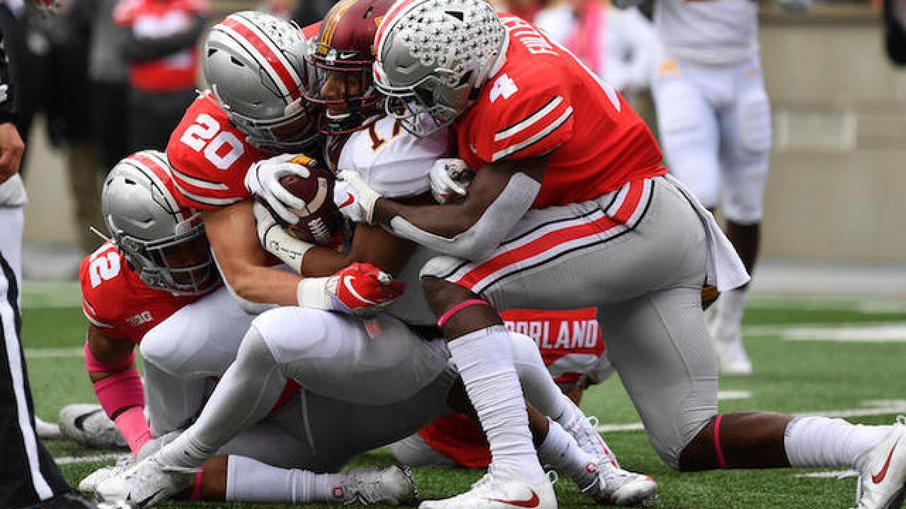 No. 3 Ohio State holds off persistent Minnesota 30-14 2b5cf2e36