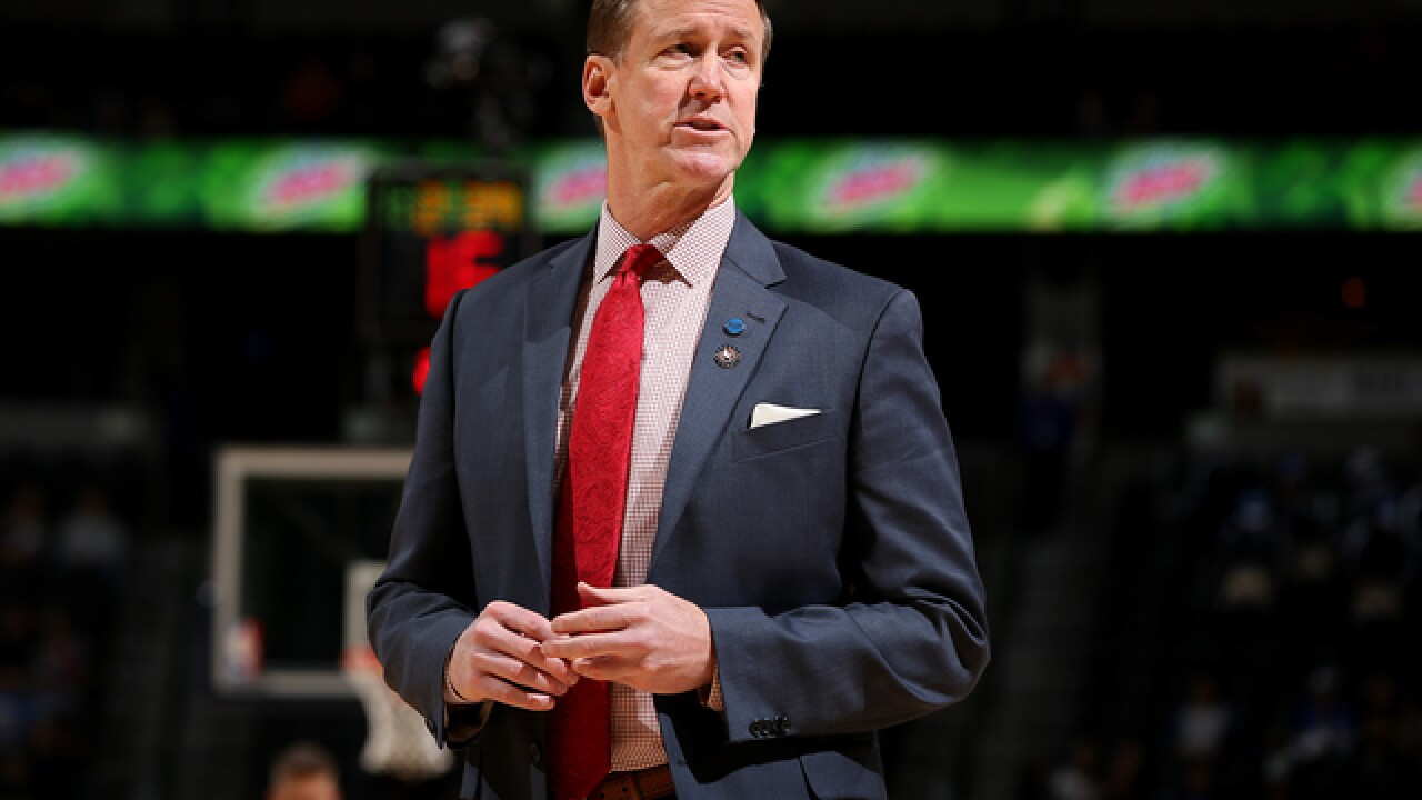 NBA coach donates to MACC Fund during Bucks game
