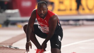Swiss sprinter Wilson out of Games after provisional ban re-imposed