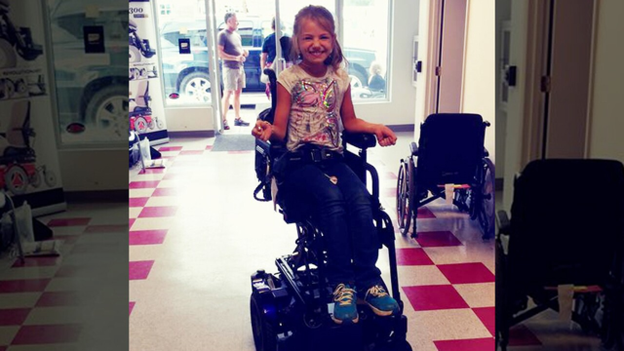 Young Girl Hit By Vehicle Not Long After Wheelchair Stolen