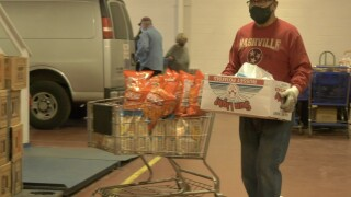 Butte Food Bank busy helping needy for Thanksgiving