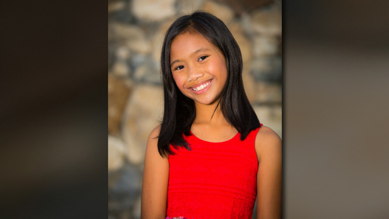 South Bay girl, 9, puts talent on national stage