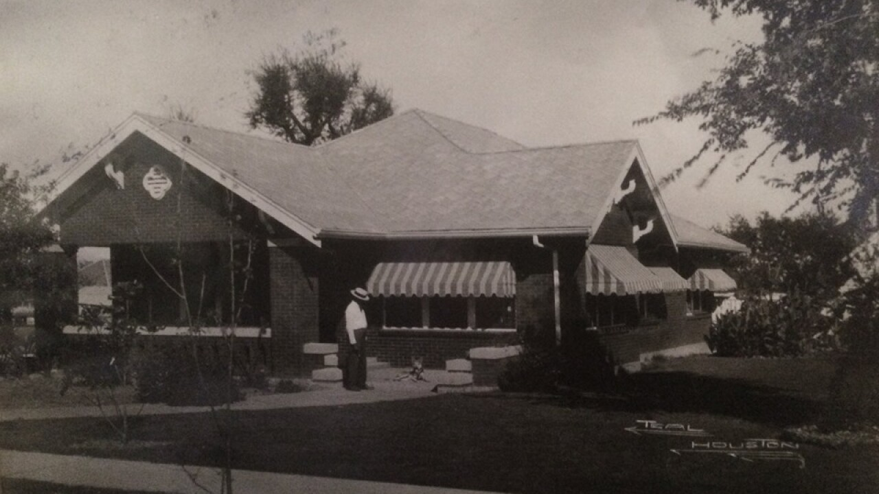 A Belton home built a century ago is getting preserved.