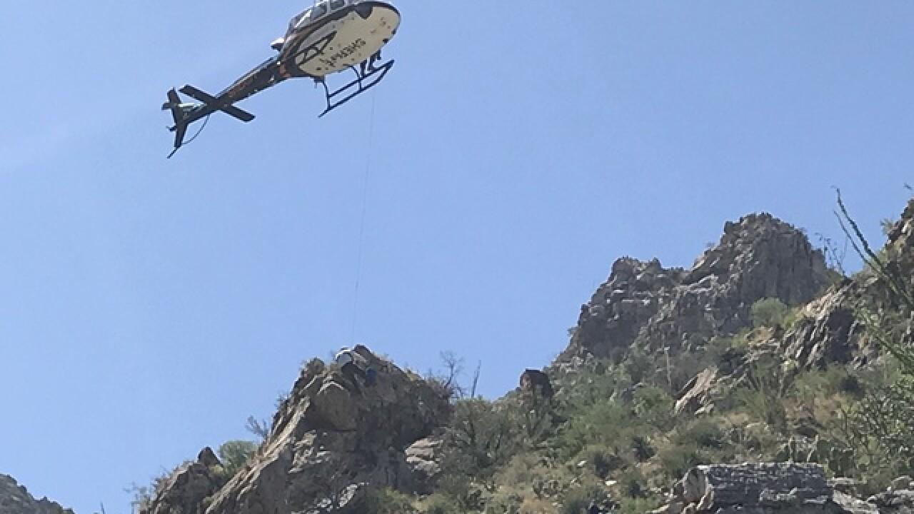 Crews rescue injured Oro Valley hiker
