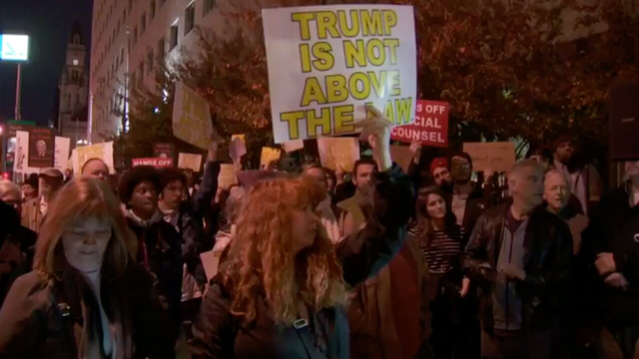 Protest supporting Robert Mueller draws crowd in Nashville