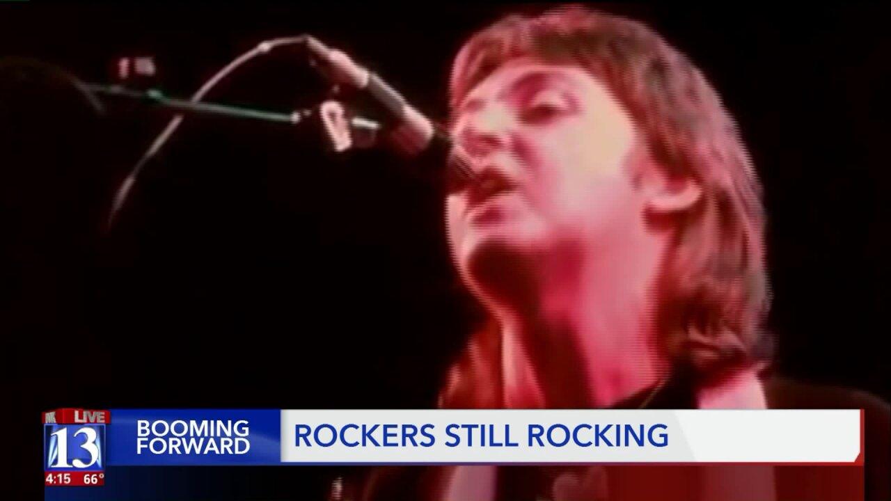 Booming Forward: Younger fans still flock to arenas for older rocklegends