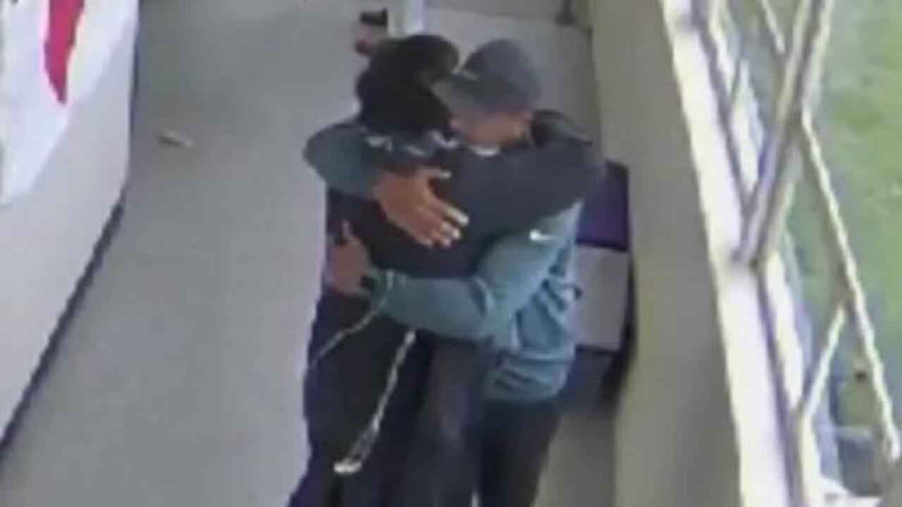 Football coach disarms Oregon student with gun, then hugs him