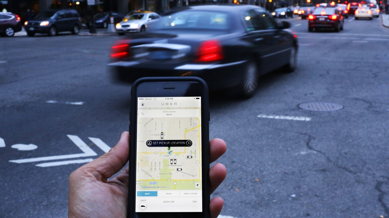 Uber is rolling out tipping