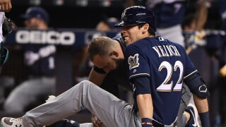 'I will be just fine': Christian Yelich thanks fans for support after season-ending injury