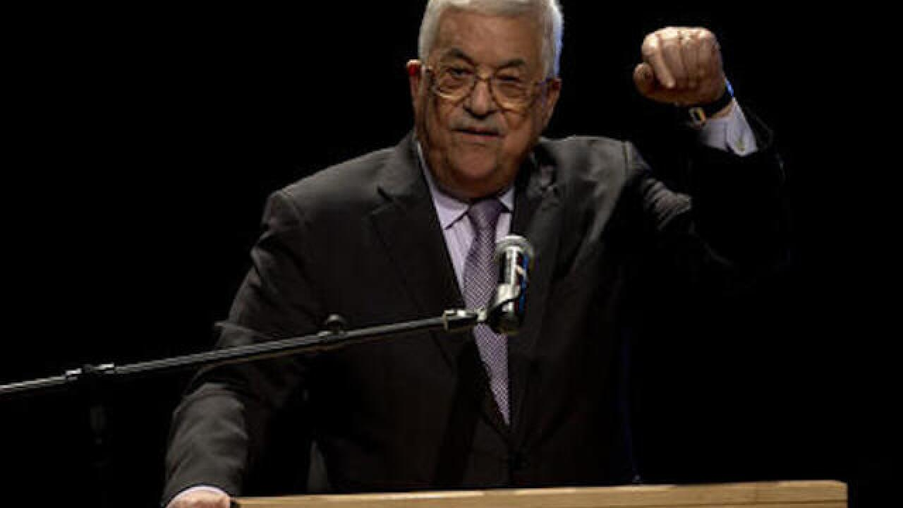 Palestinian President Mahmoud Abbas hospitalized, report says