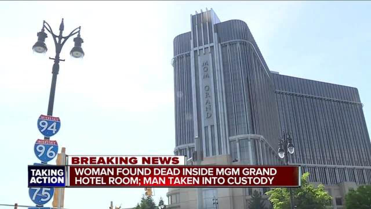 Woman found dead inside MGM Grand hotel