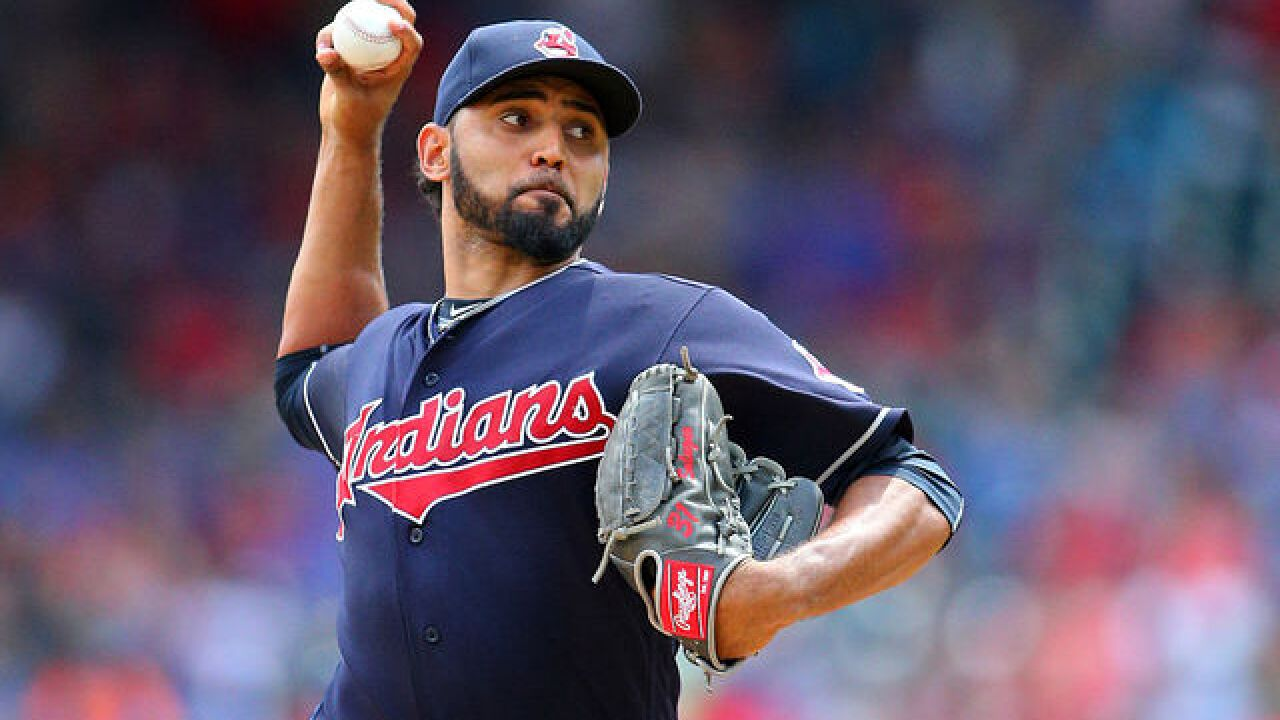 Indians starting pitcher Danny Salazar out the rest of the season