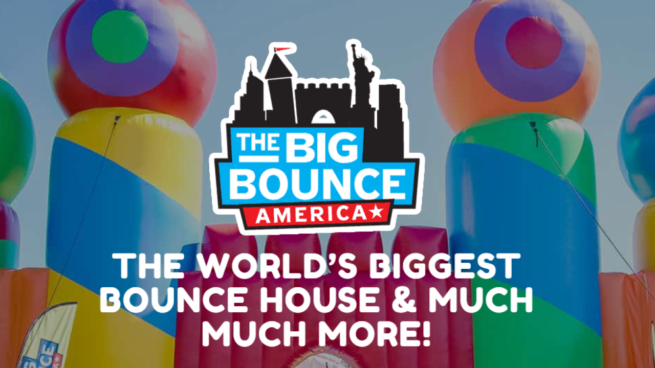 World S Largest Bounce House Experience Opens In North Las