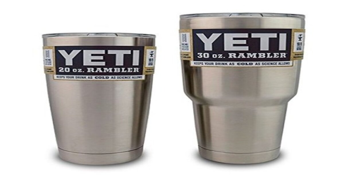 $39 Yeti tumbler vs $9 Walmart version: Is there any difference?