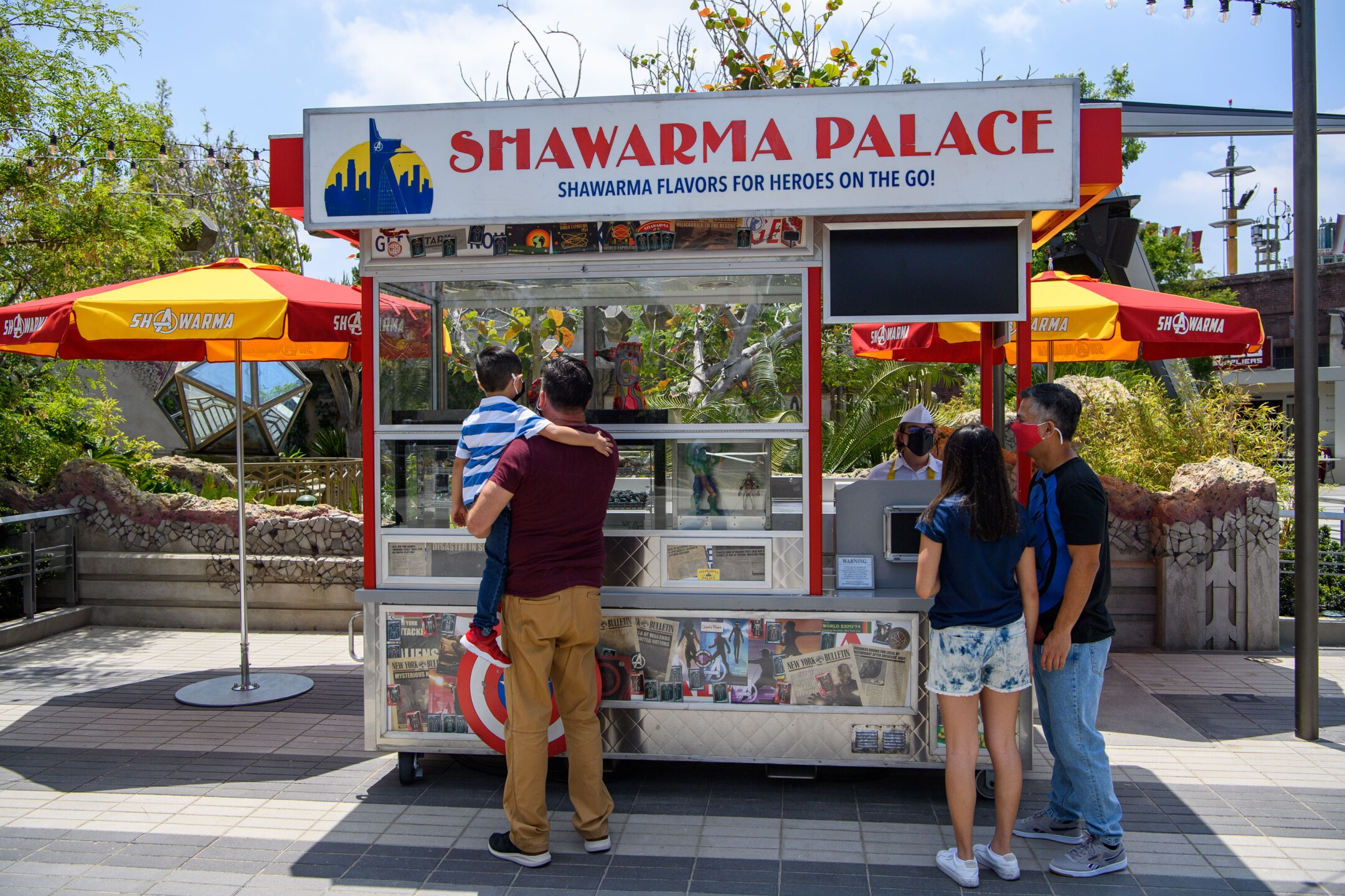 Shawarma Palace at Avengers Campus