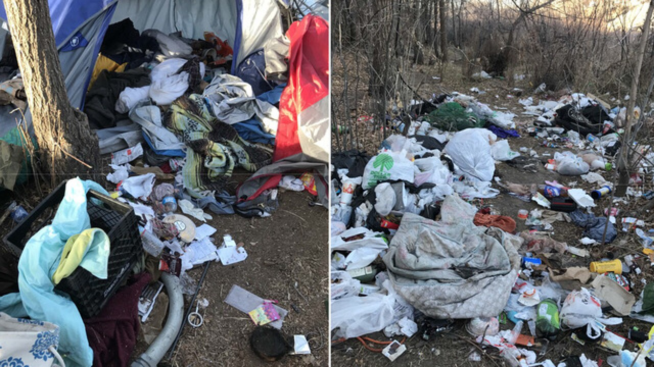 25 truckloads of transient trash cleared from South Platte River encampment