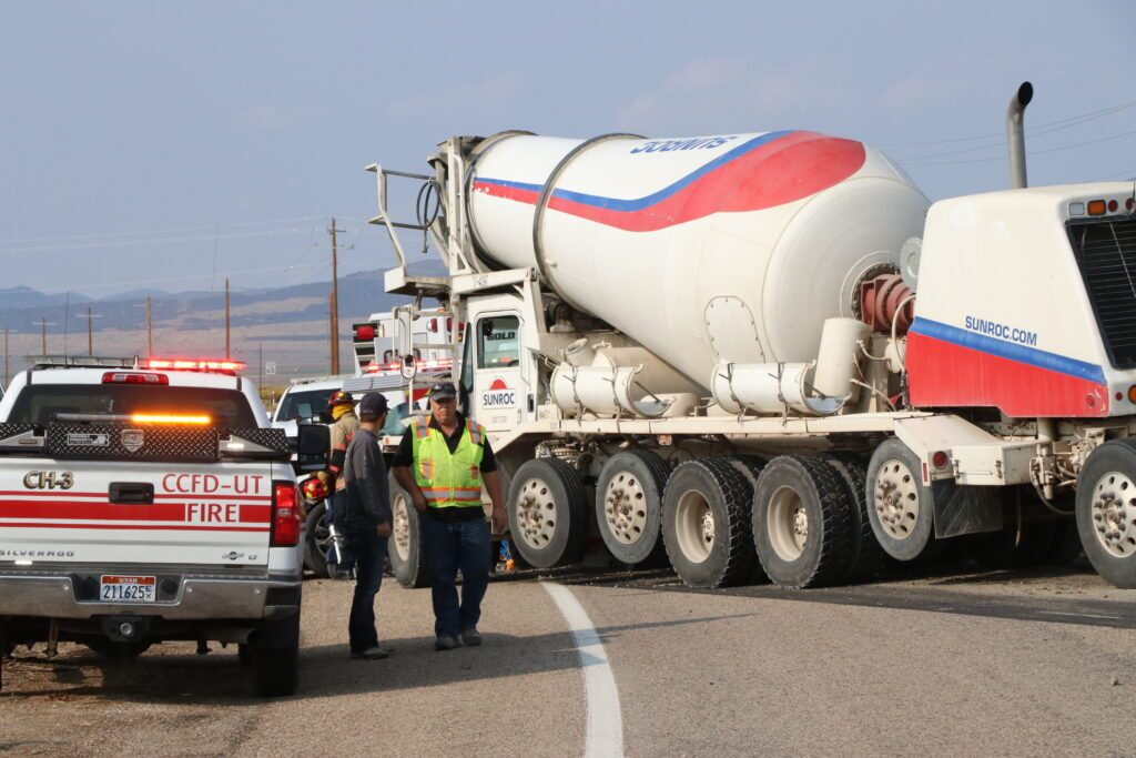 Cement Truck Accident
