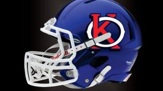 Kern Oilers LDFL Helmet