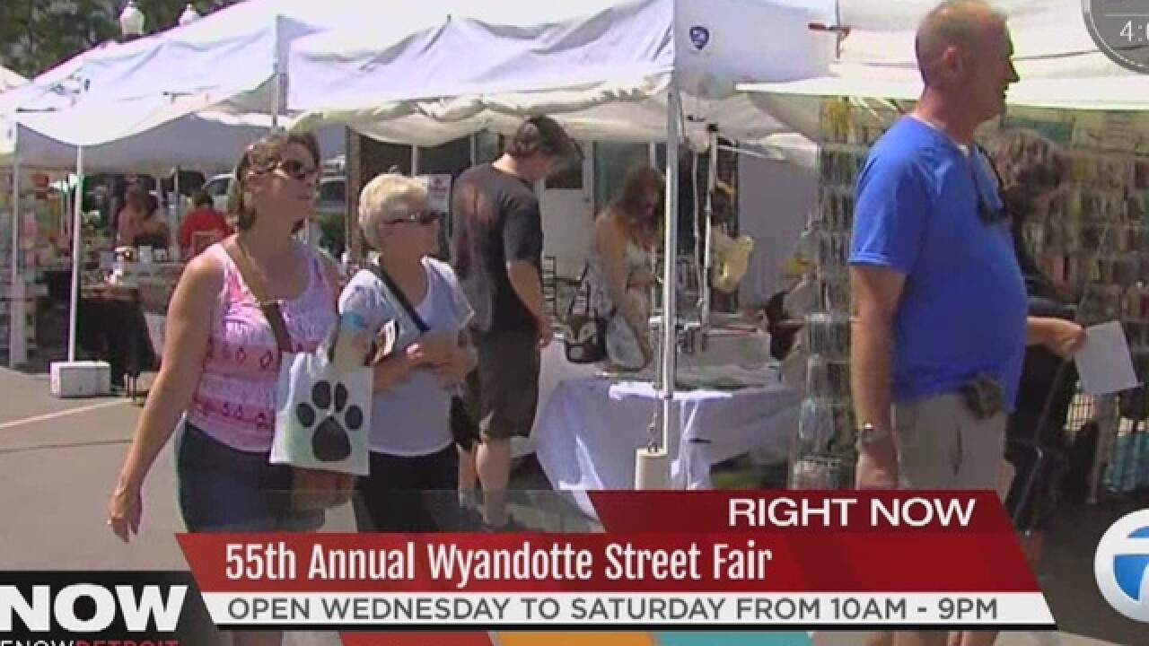 55th Annual Wyandotte Street Art Fair kicks off