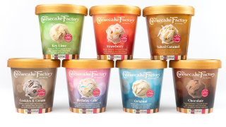 The Cheesecake Factory launches line of ice creamflavors