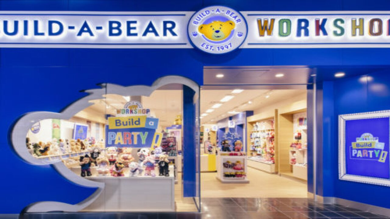Build-A-Bear Has A Fancy New Teddy Bear Decorated With Swarovski Crystals