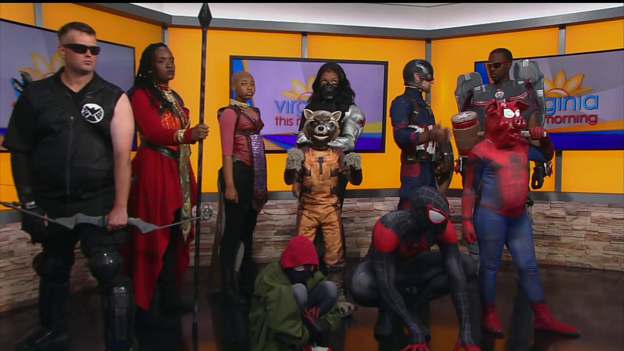 Be your own hero with RVA Avengers