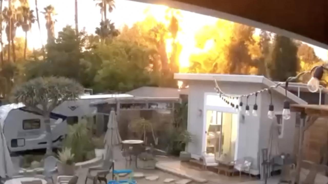 Lightning strike in La Mesa spurs neighbors into action