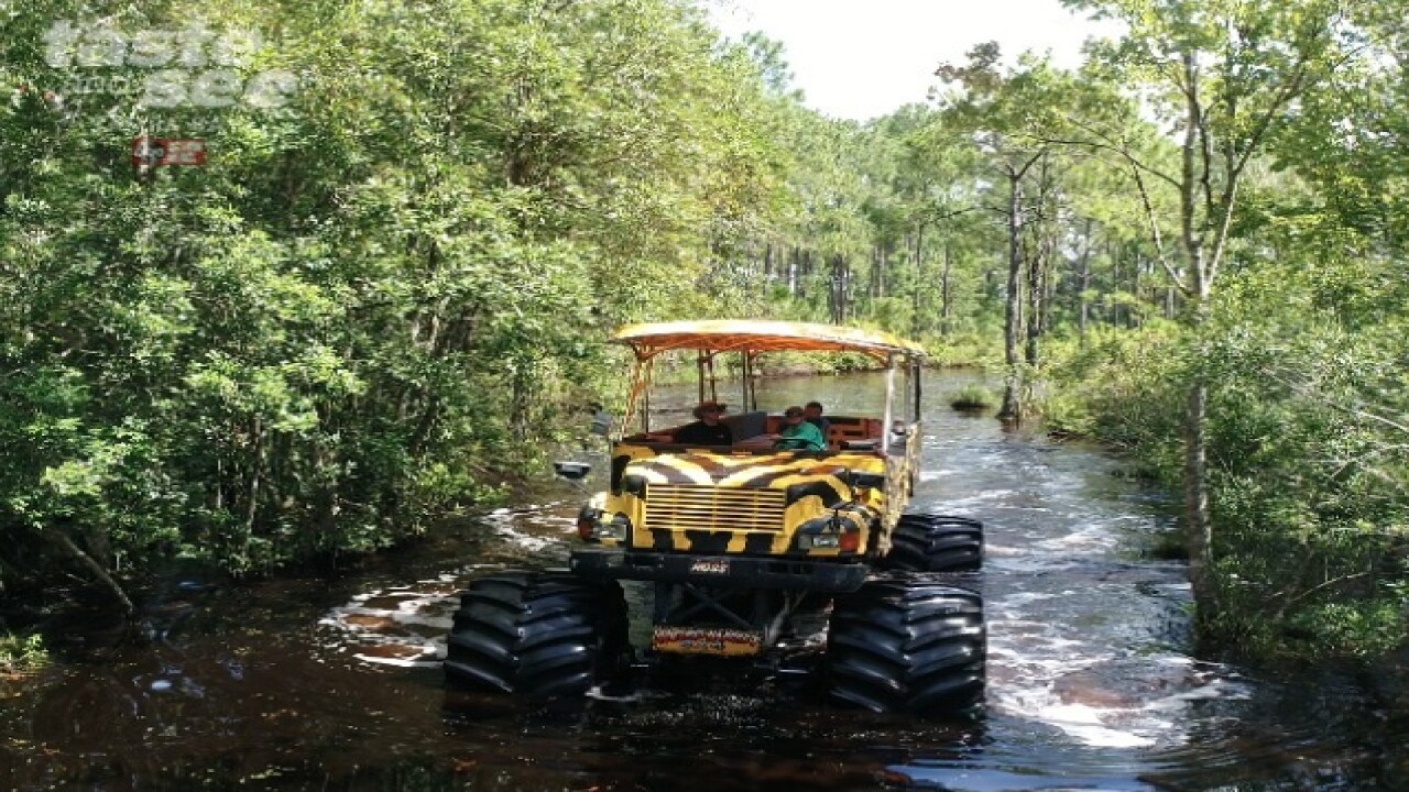Central Florida is home to the world's largest monster truck safari