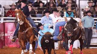 Belgrade's Josh Clark splits win at prestigious Fort Worth Rodeo
