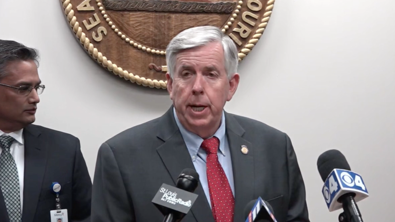 Missouri Governor Mike Parson coronavirus.png