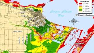 Coastal Bend Storm Surge Maps