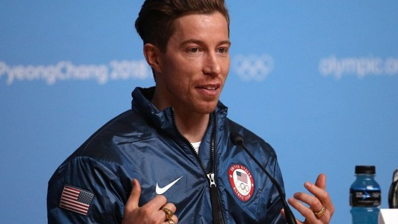 Olympian Shaun White apologizes for offensive Halloween costume