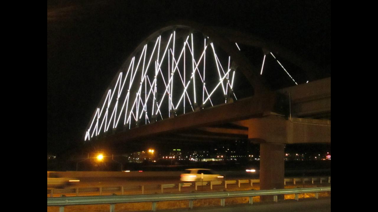 6th Ave bridge lights 4