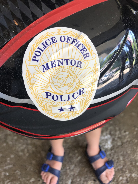 Mentor PD bike helmet safety program