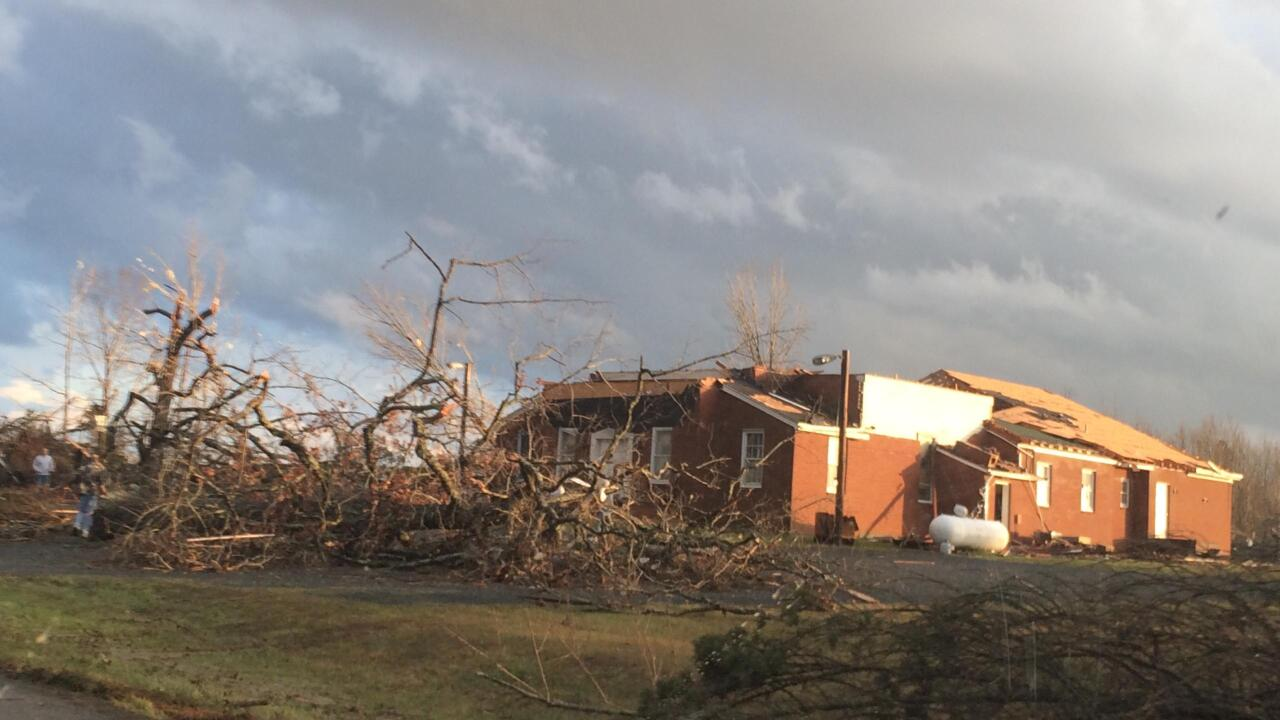 At least 7 tornadoes reported as unusual severe weather punches Virginia