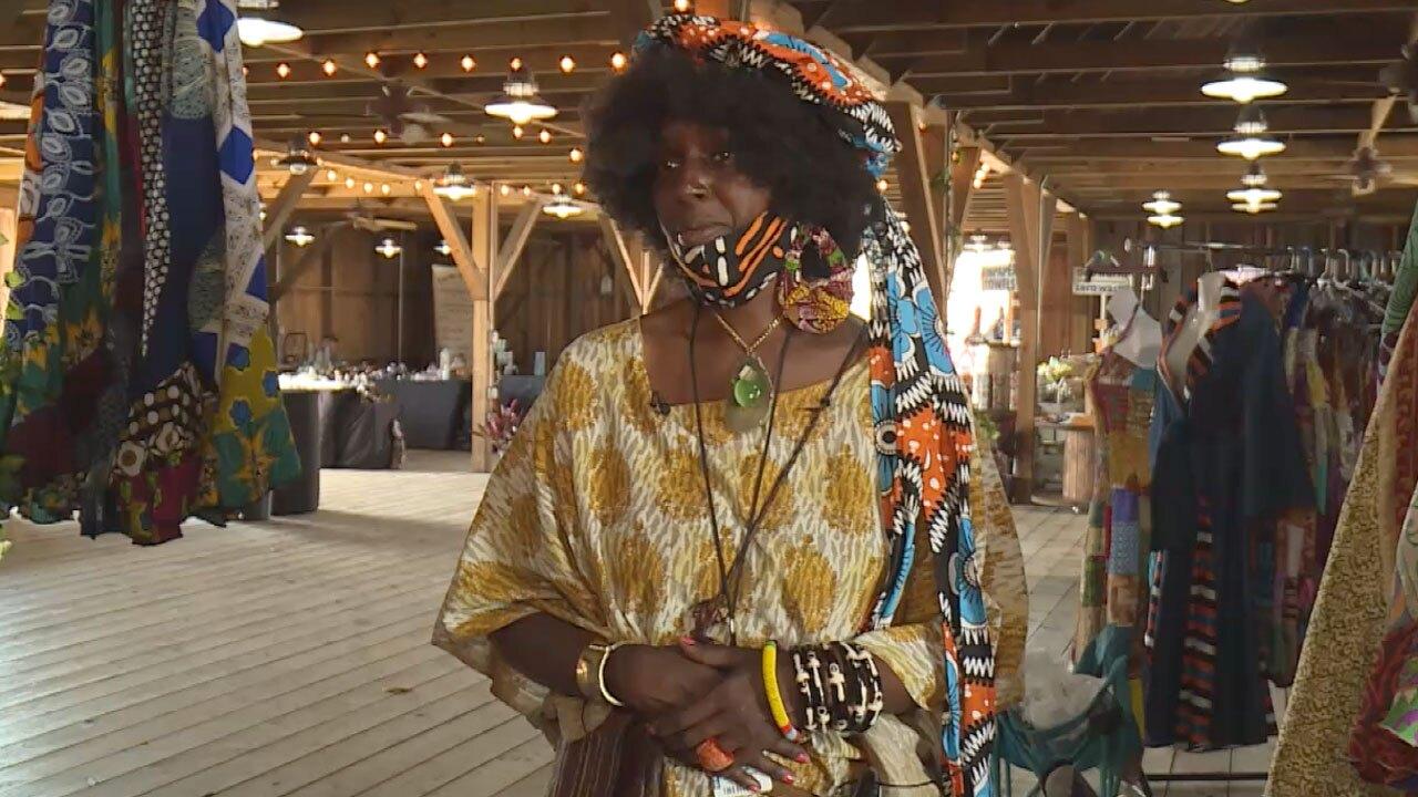 Hetheru Raatmut, fashion designer, vendor at South Florida Fair