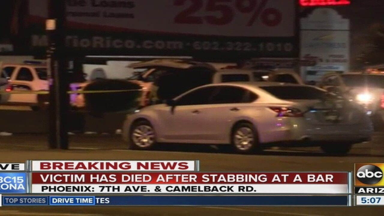Police investigating deadly stabbing in PHX
