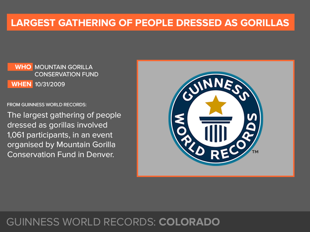 GALLERY: 30 of the craziest Guinness Book of World Records set in Colorado