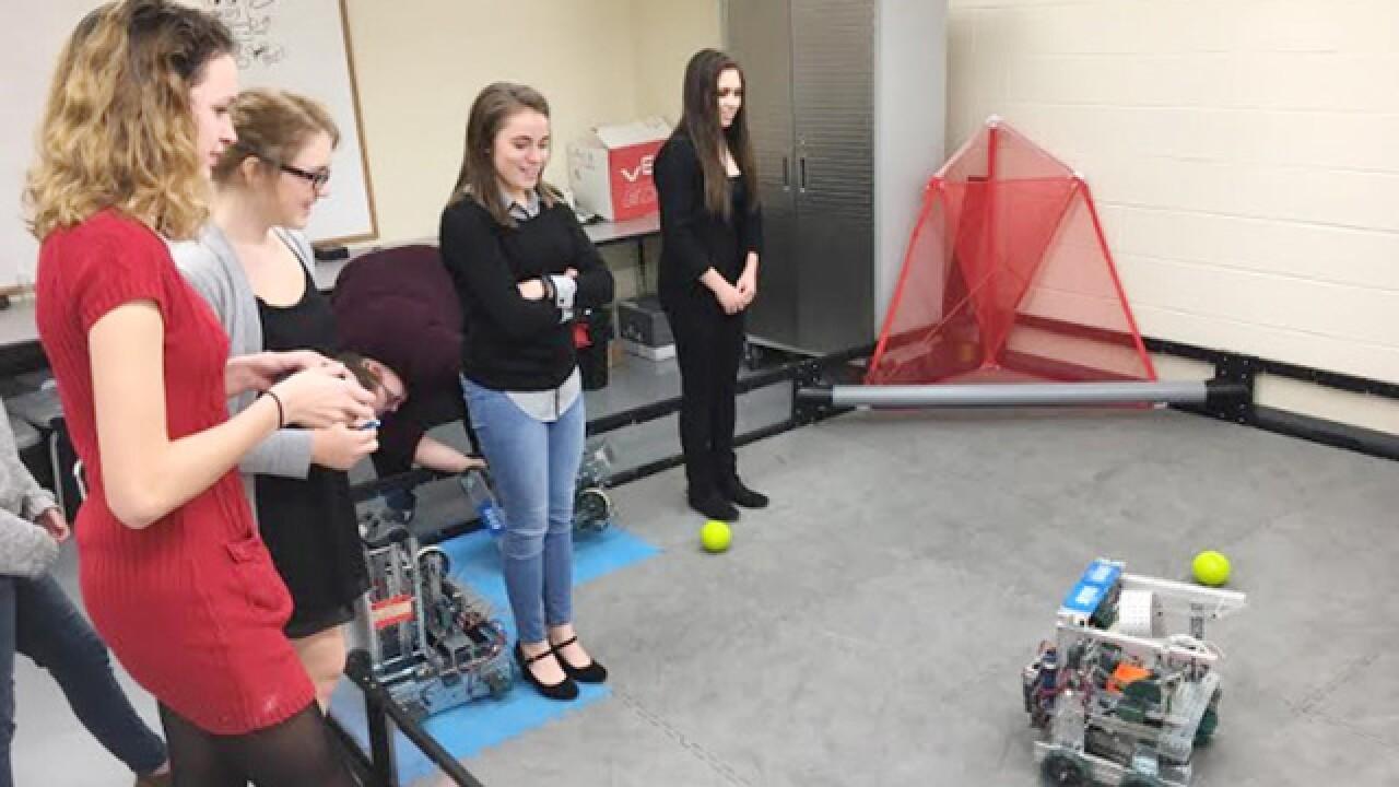 Goal: Turn girls into engineering 'rock stars'
