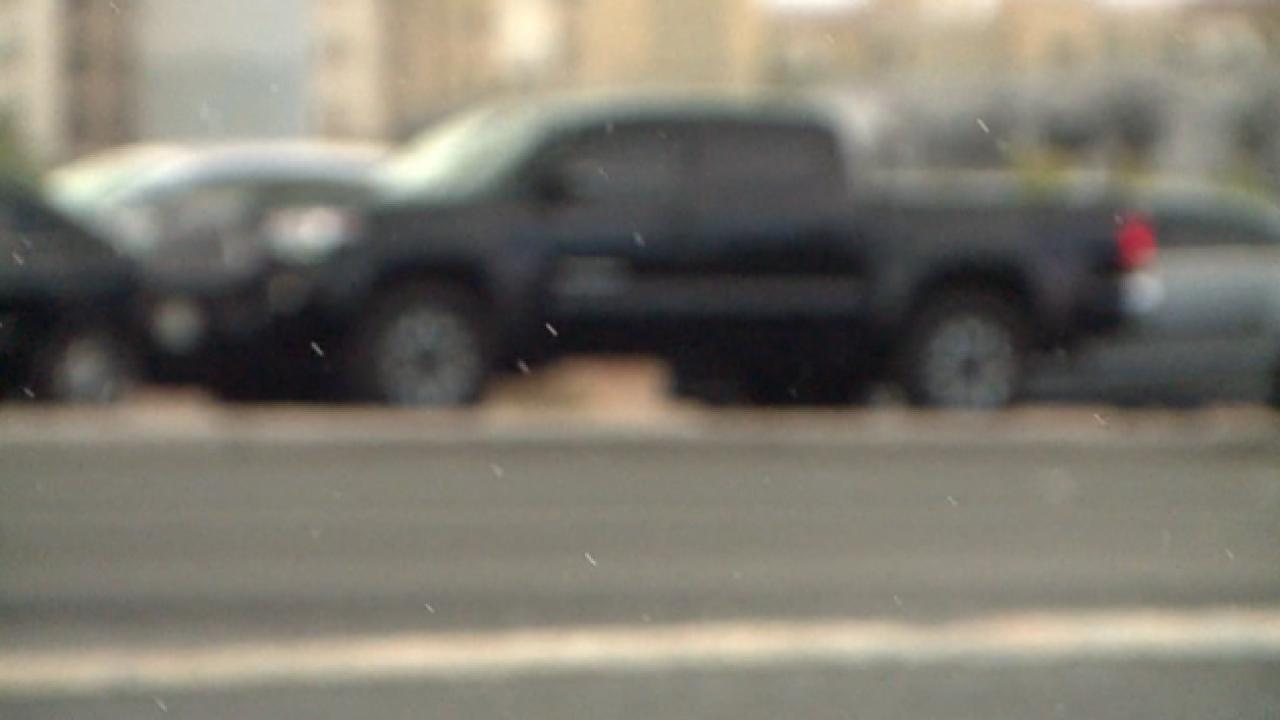 Rain hits portions of Las Vegas valley