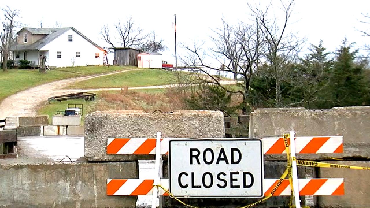 Bridge closures could endanger Kentucky town