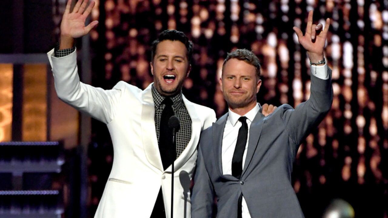 Dierks Bentley, Luke Bryan reportedly out as co-hosts of ACM Awards