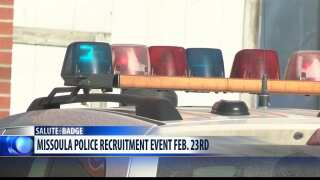 Salute the Badge: Missoula PD looking for recruits