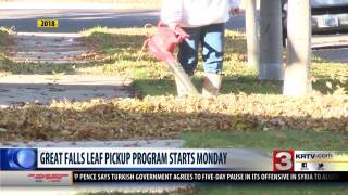 Boulevard District leaf pickup begins on Monday