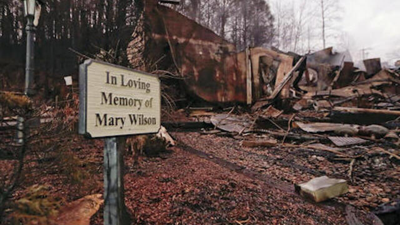 Drenching rains help put out Tennessee wildfires
