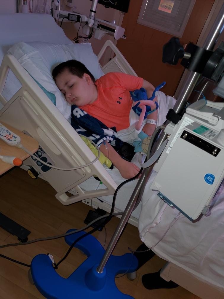 Gass needs a bone marrow transplant as soon as possible