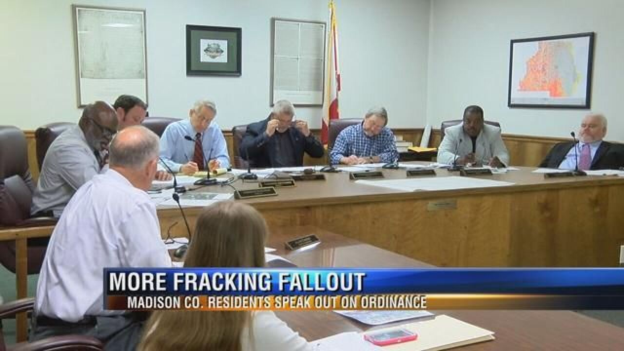 Madison County Residents Voice Opinions in Fracking Debate