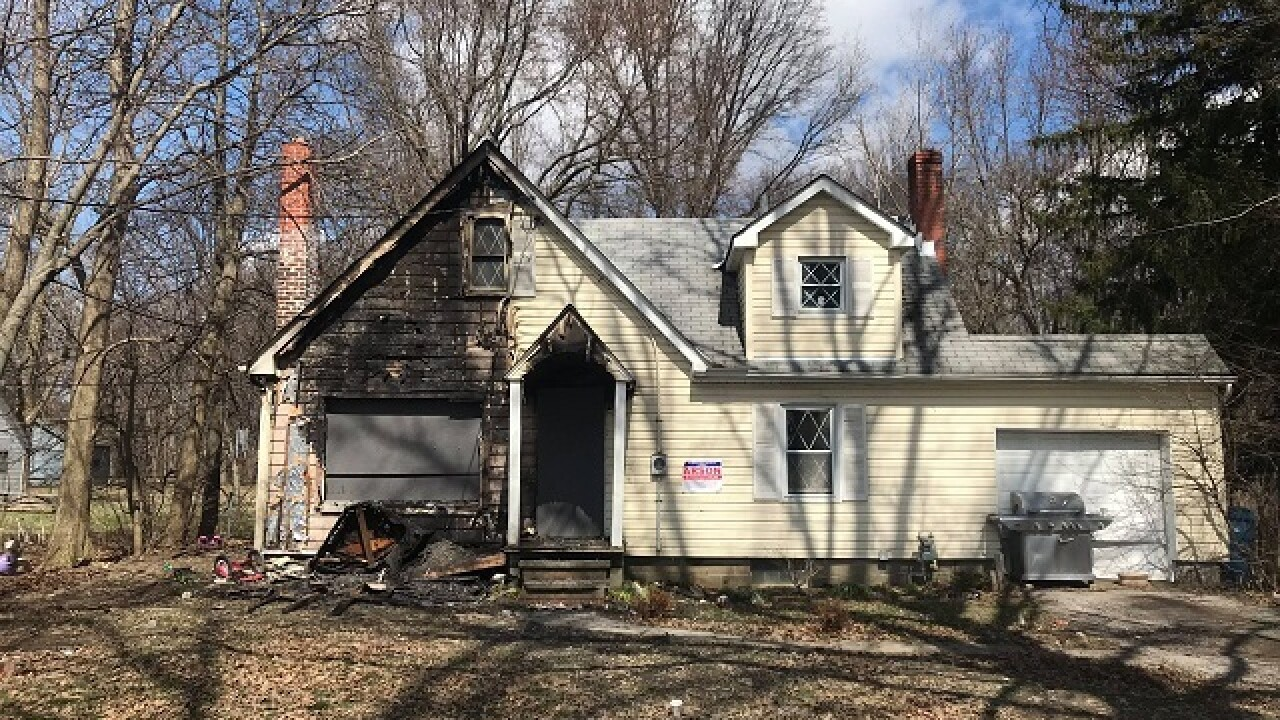 Two Olmsted Township house fires ruled arson
