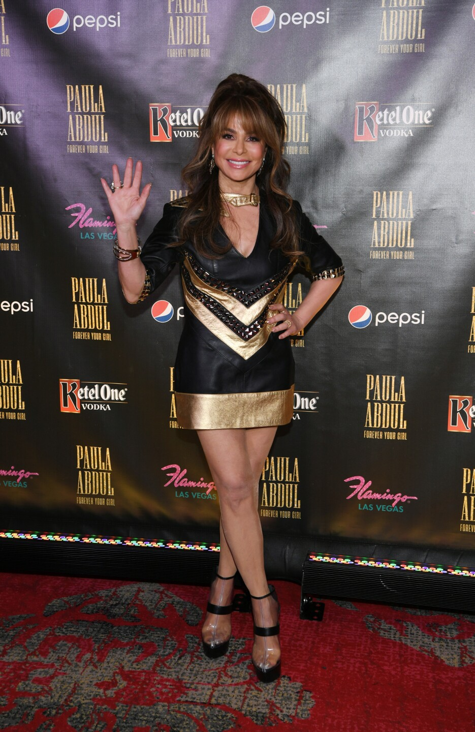 """Paula Abdul Celebrates The Official Opening Of Her Residency """"Paula Abdul: Forever Your Girl"""" At Flamingo Las Vegas"""