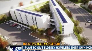 Plan to give elderly homeless their own homes